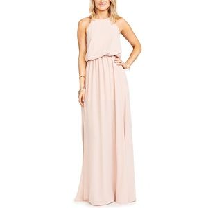 Show Me Your Mumu Heather Maxi Dress, Blush
